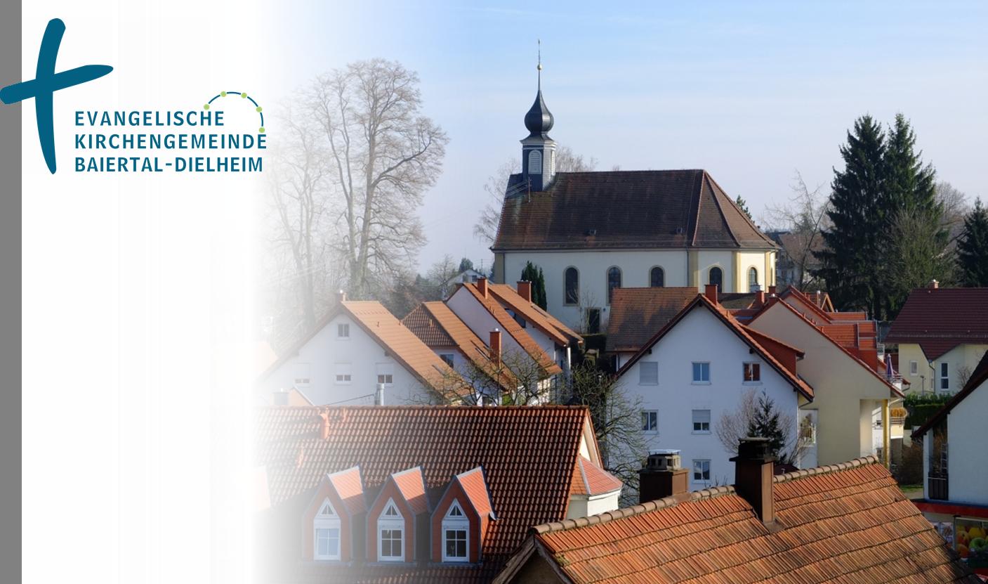 Quelle: Evangelische Kirchengemeinde Baiertal-Dielheim Bild M.Flender